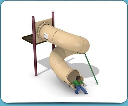 360-degree-spiral-tube-slide
