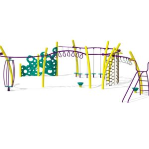Yellow Active Playground Set