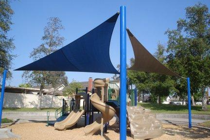 Blue Playground Sails