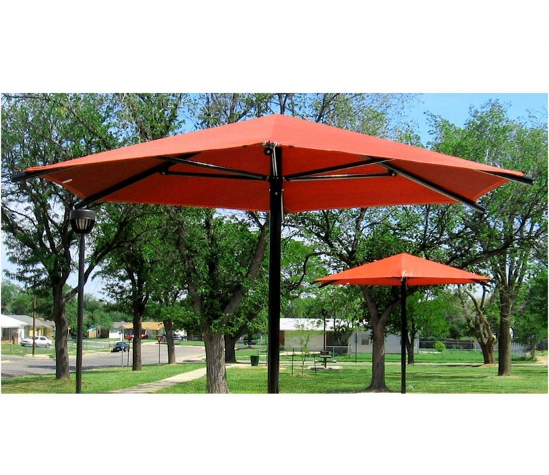 Red Commercial Umbrellas