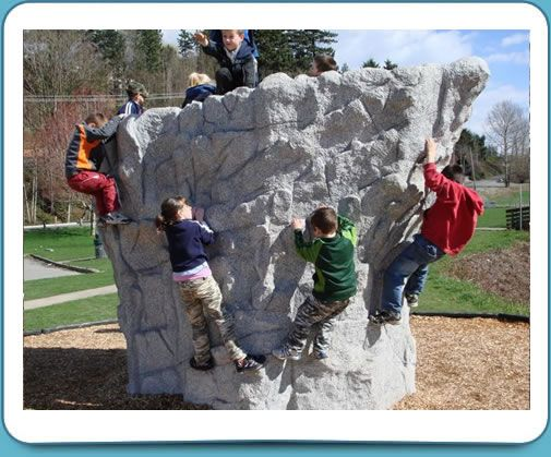 Boulder Rock Play Playground Structure