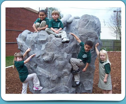 Playground Etc.'s Rock Play Equipment