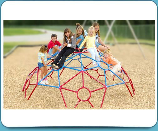 Space Pod GeoDome Dome Climber
