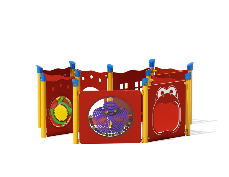 Toddler Composite Activity Panels Set