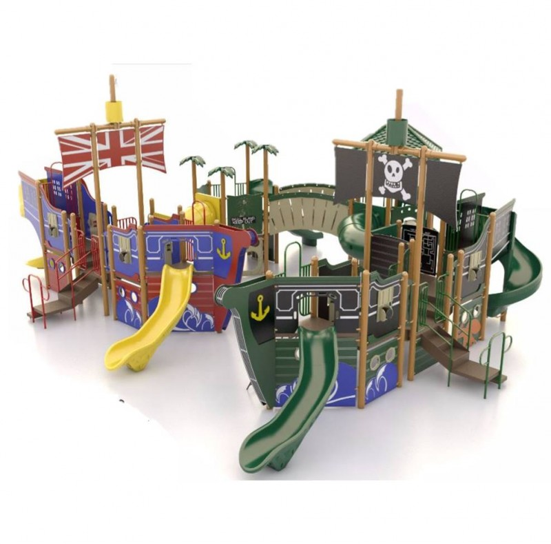 Pirate & Navy Ship Playground Equipment