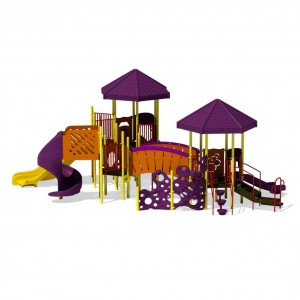 Purple Playground Slide