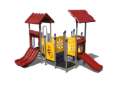Red and Yellow Playground set