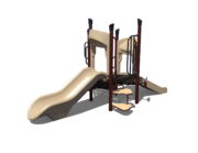 Tan Playground Slide