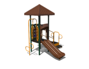 Brown Playground Slide