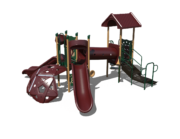 Maroon Playground Set