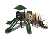 Green Playground Set