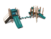 Teal Playground Set