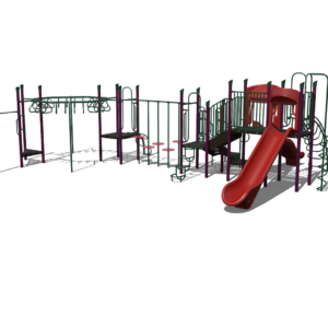 Green and Red Playground Set