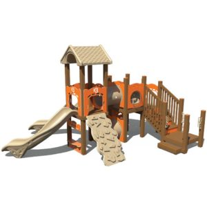 Recycled Playground Unit Structure