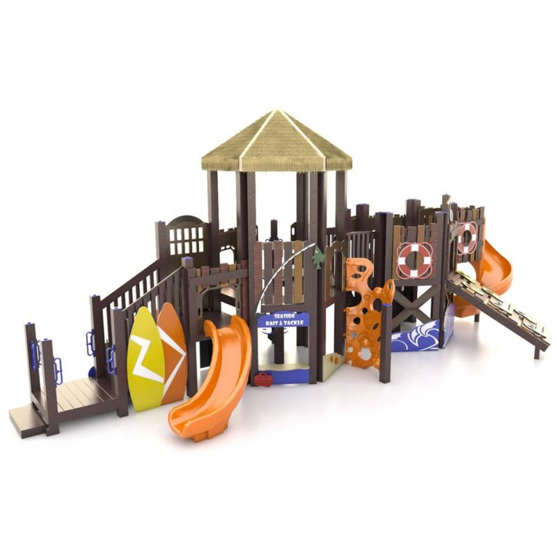 Beach Surf Themed Playground Set Idea