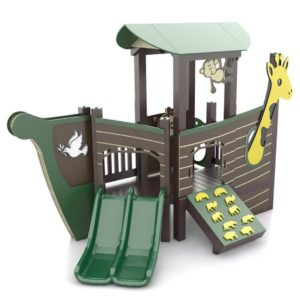 Noah Ark Themed Playground Set Idea