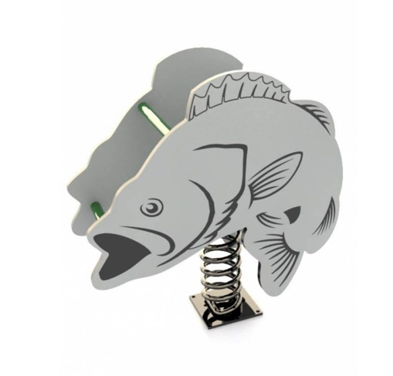 Trout Fish Spring Toy Rider