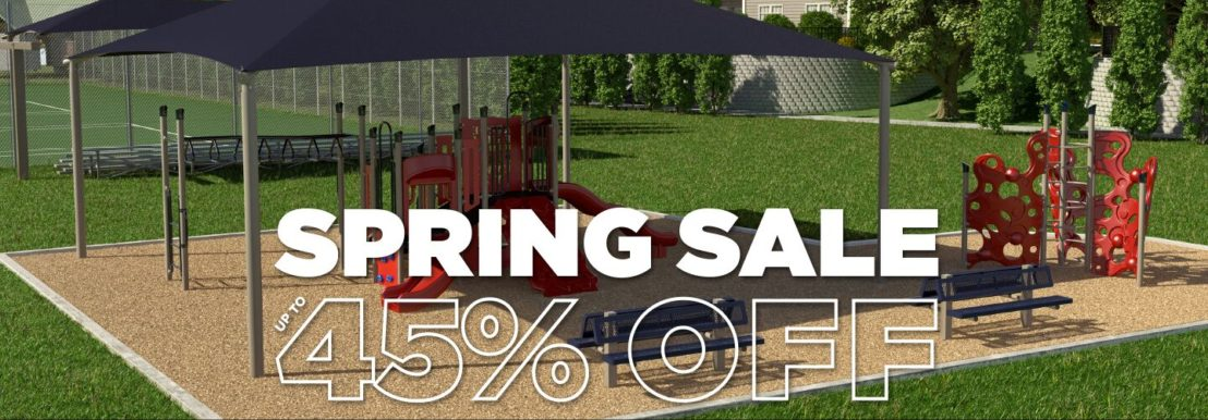 March Playground Sale