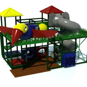 Learn more about Adventure 600 jungle themed indoor playground