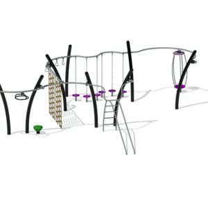 Black Active Playground Set
