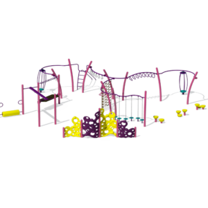 Pink Active Playground Set