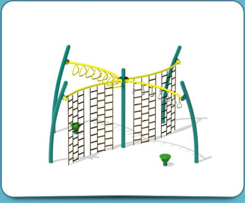 Green Active Playground Set Idea