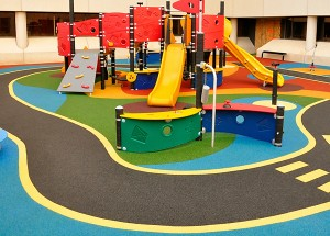 Colorful Playground on DuraPlay