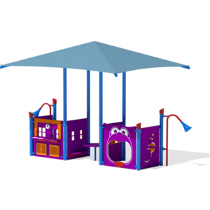 Toddler Infant Playground with Shade