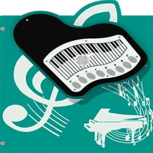 Teal Piano Music