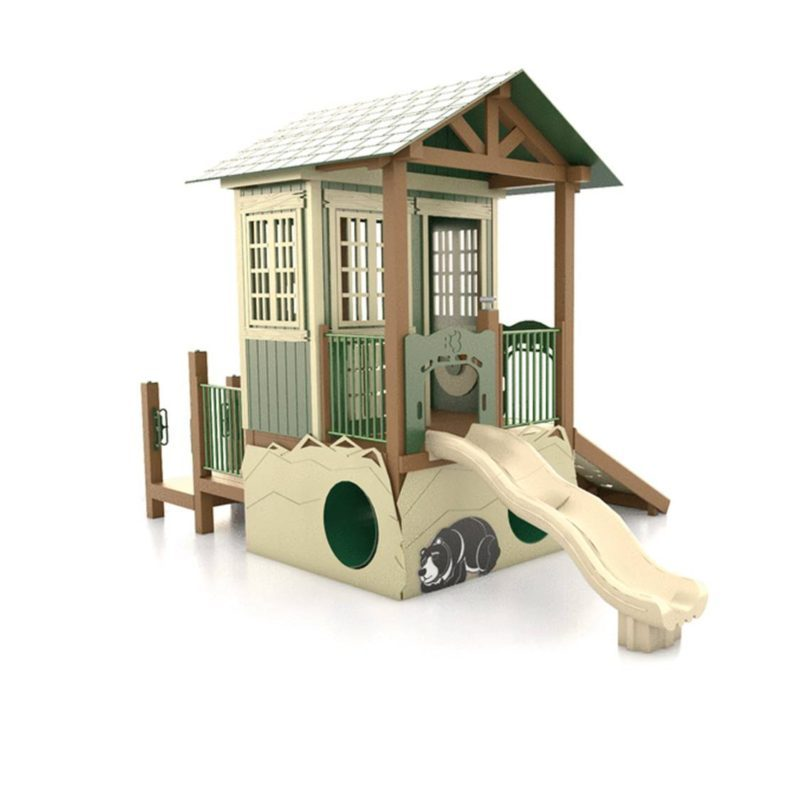 Ranger Station Themed Playground Set Idea