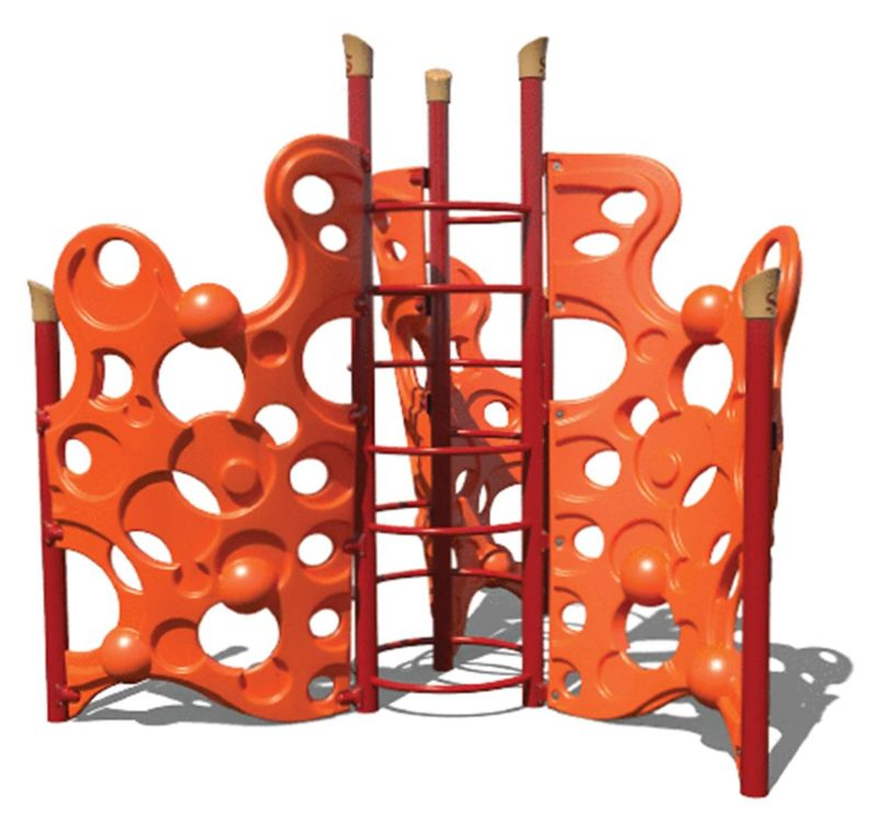 Bubble Spiral Wall Climber