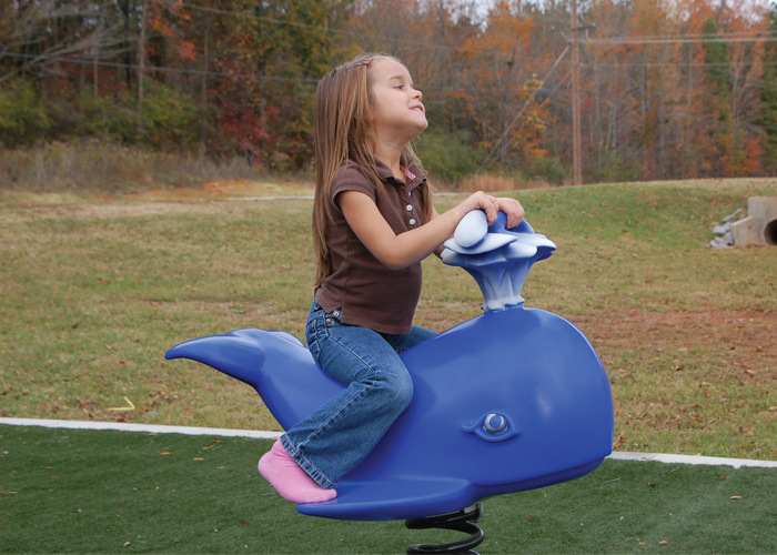 Whale Spring Toy Rider