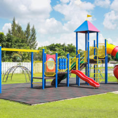 safe playground equipment for schools