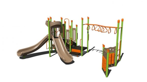 commercial playground steel