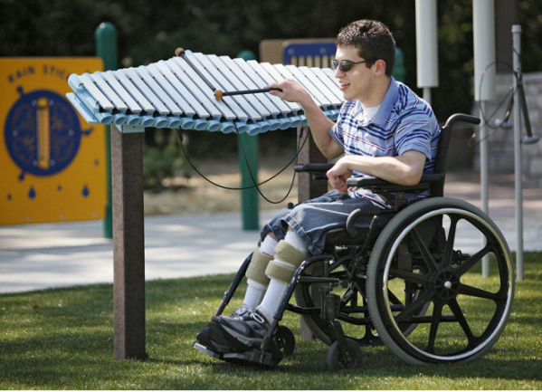 Universal Design for Inclusive Playgrounds