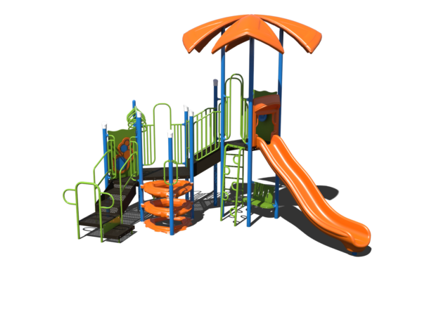 modern looking commercial playground