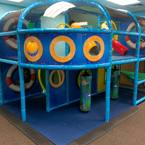 indoor playground at church