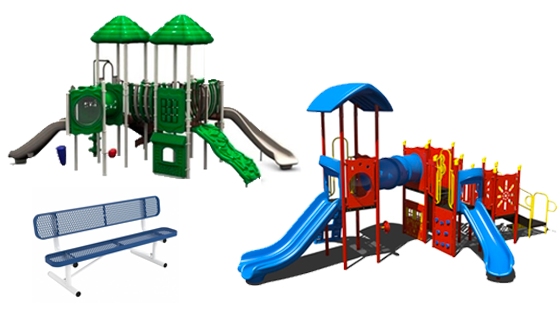 quick ship playgrounds and site furnishings