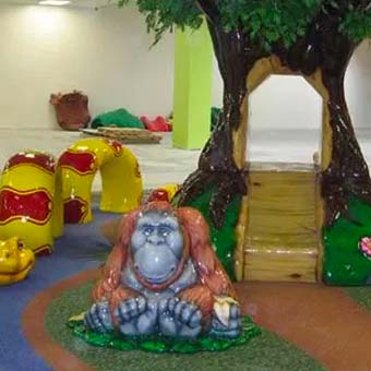 Learn more about Jungle foam play structure